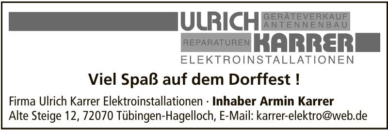 Ulrich Karrer Elektroinstallationen