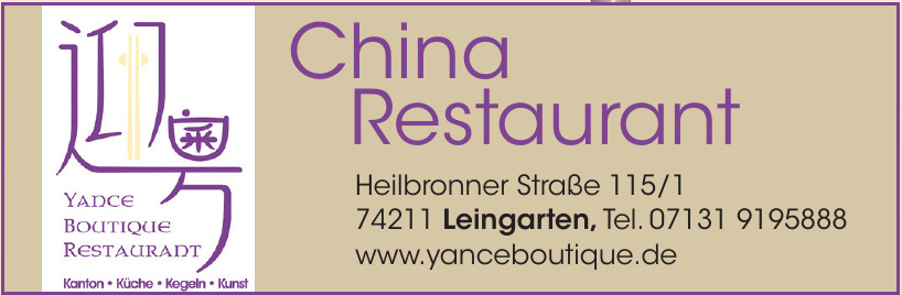 Yance Boutique Restaurant
