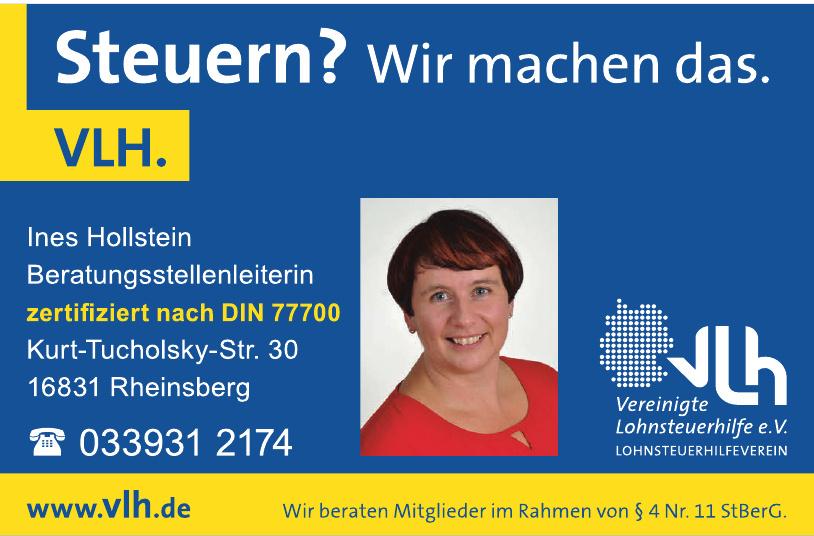 VLH Ines Hollstein Beratunsstellenleiterin