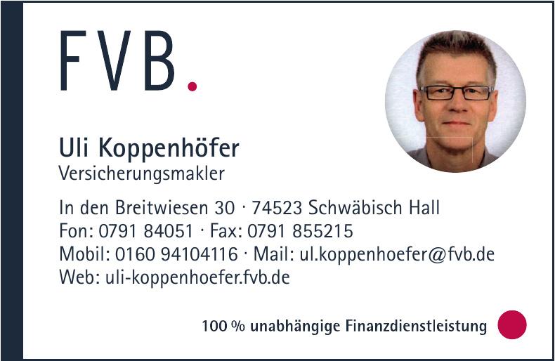 FVB - Uli Koppenhöfer - Versicherungsmakler