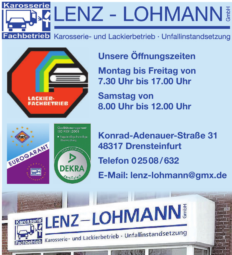 Karosserie Fachbetrieb Lenz-Lohmann GmbH