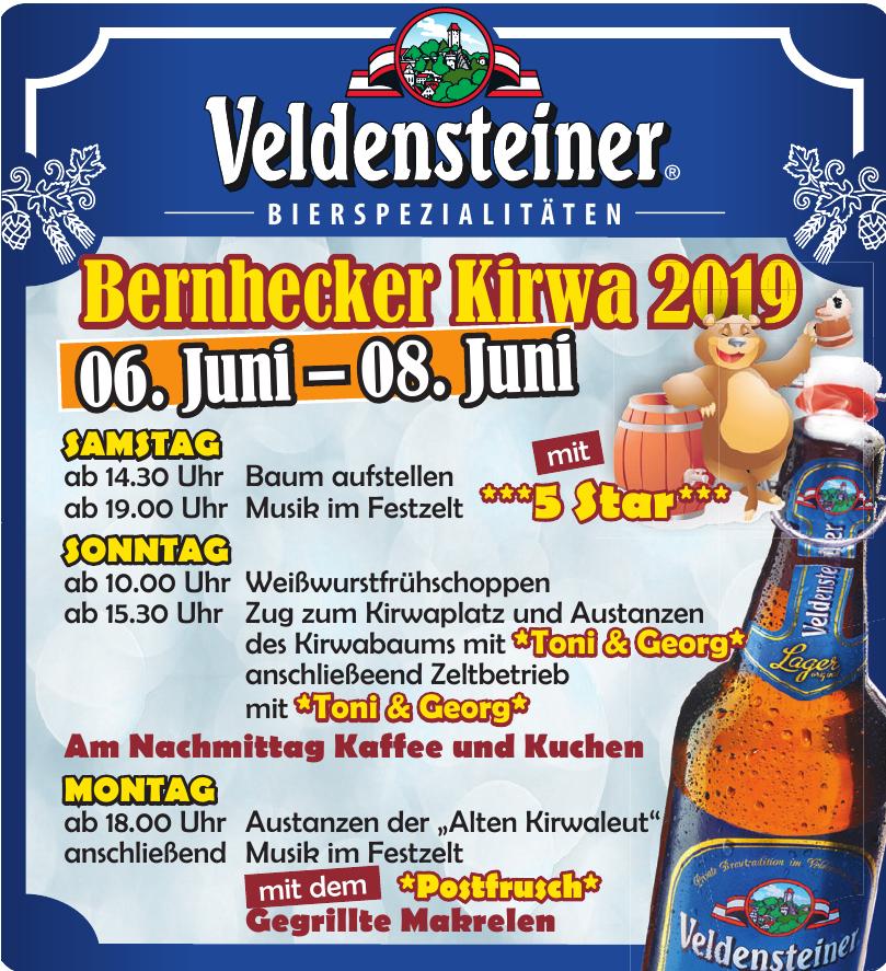 Veldensteiner - Bernhecker Kirwa 2019