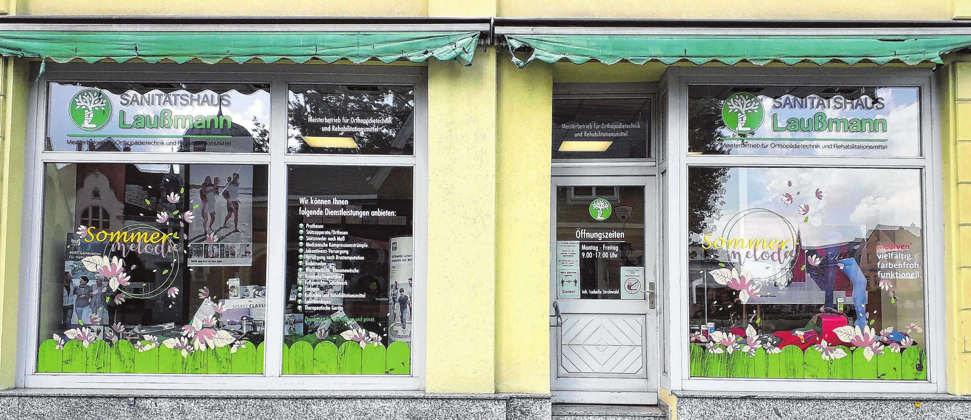 Eine Zweigstelle des Sanitätshauses Laußmann befindet sich in Guben. Foto: Sanitätshaus Laußmann