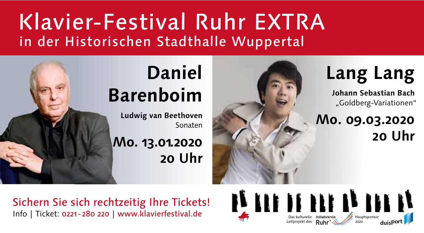 Klavier-Festival Ruhr EXTRA