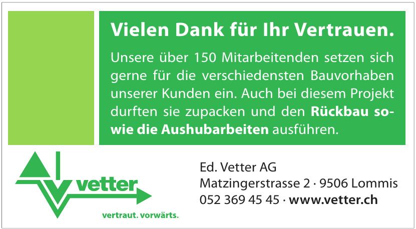 Ed. Vetter AG