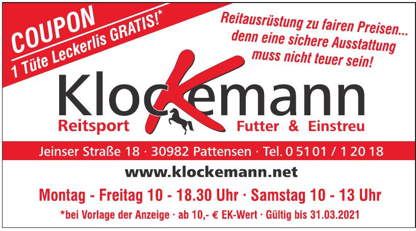 Klockemann Reitsport, Futter & Einstreu