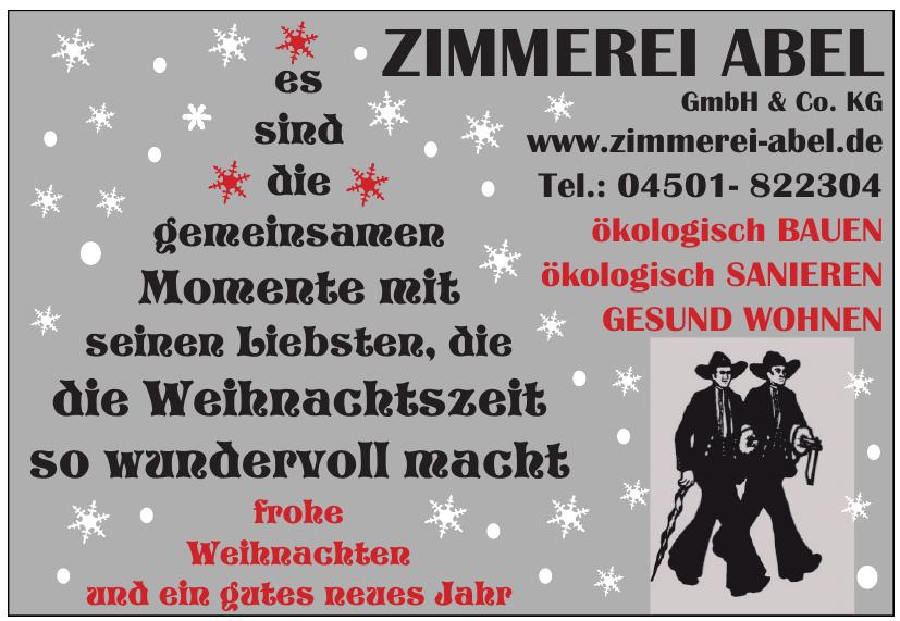 Zimmerei Abel GmbH & Co. KG