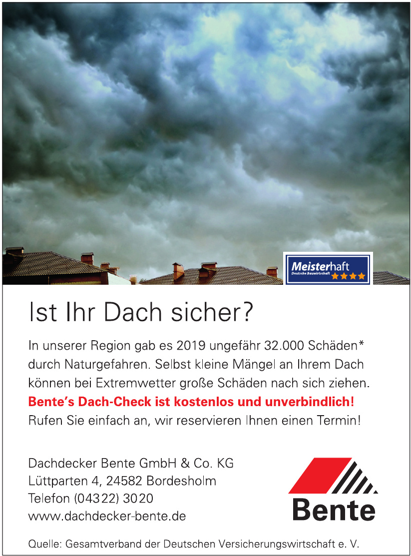 Dachdecker Bente GmbH & Co. KG