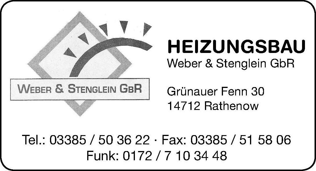 Heizungsbau Weber & Stenglein GbR