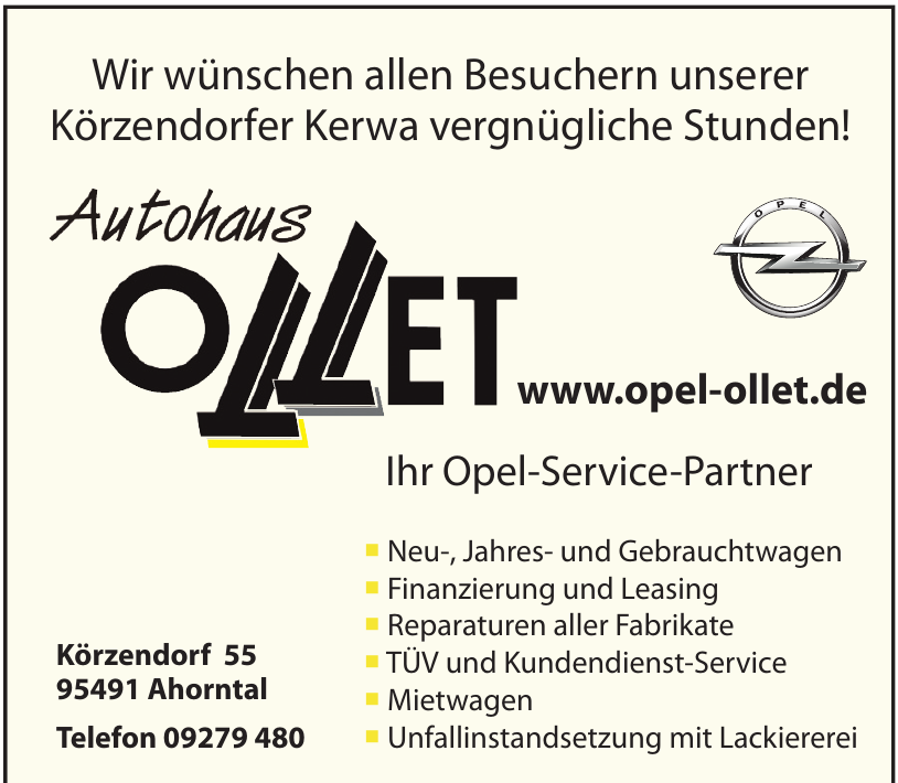 Autohaus Ollet
