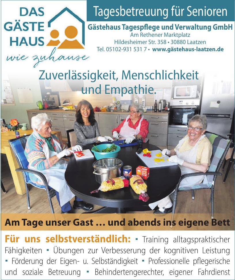 Gästehaus Tagespflege und Verwaltung GmbH