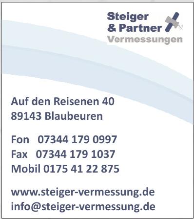 Steiger & Partner Vermessung