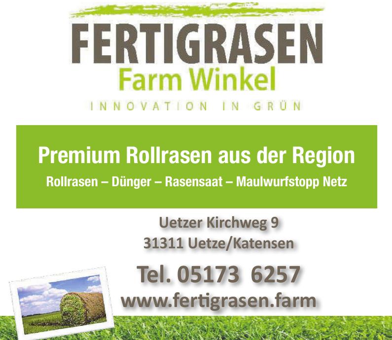 Fertigrasen Farm Winkel