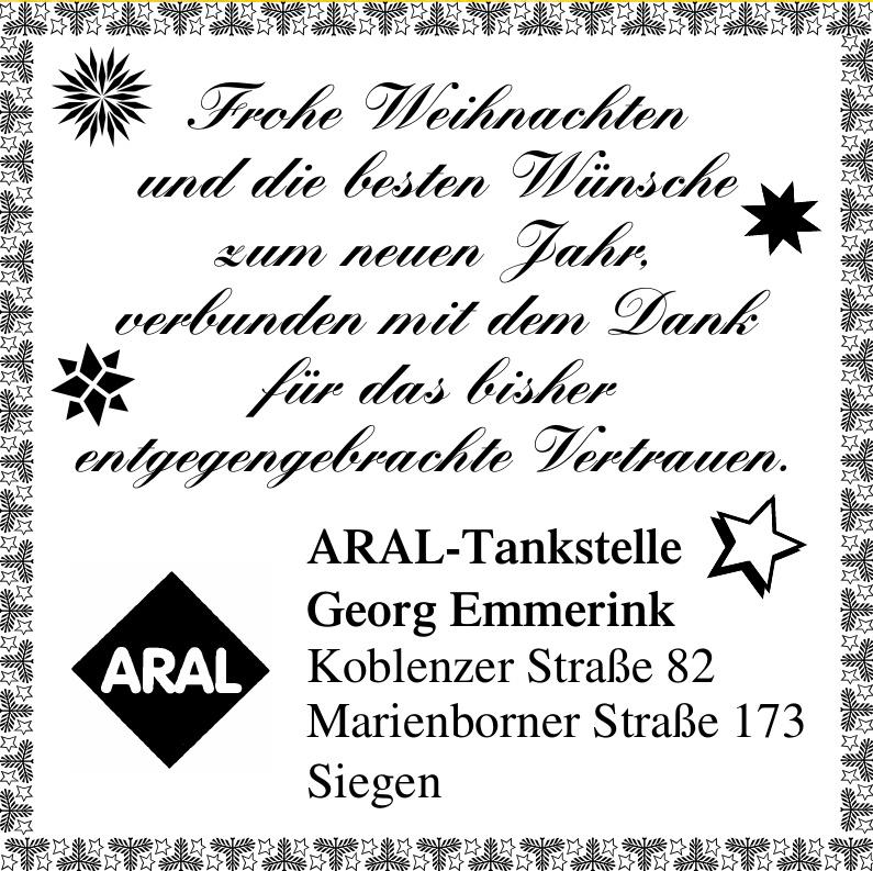 ARAL-Tankstelle Georg Emmerink