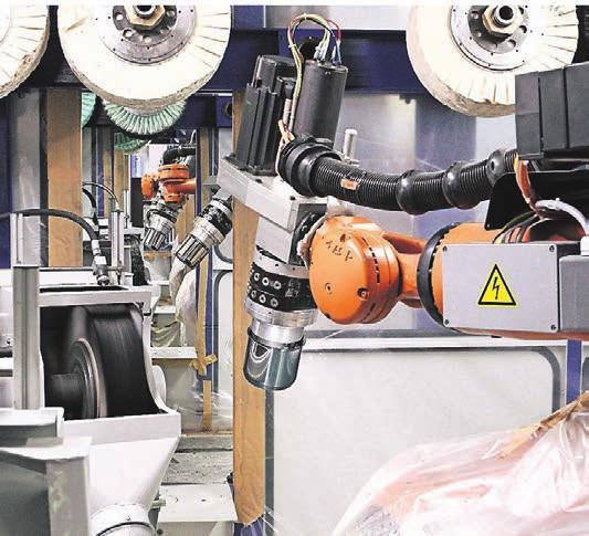 Berger Automatisierung hat sich durch Innovation und Investition zu einem echten Schwergewicht im Bereich der Robotik entwickelt.