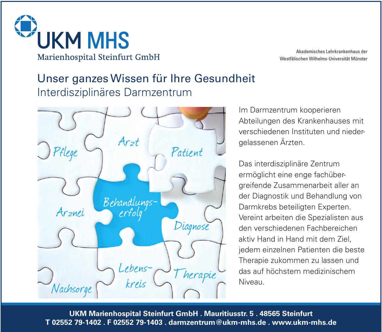 UKM Marienhospital Steinfurt GmbH