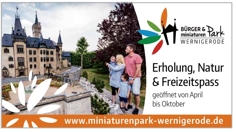 Bürger und miniaturen Park
