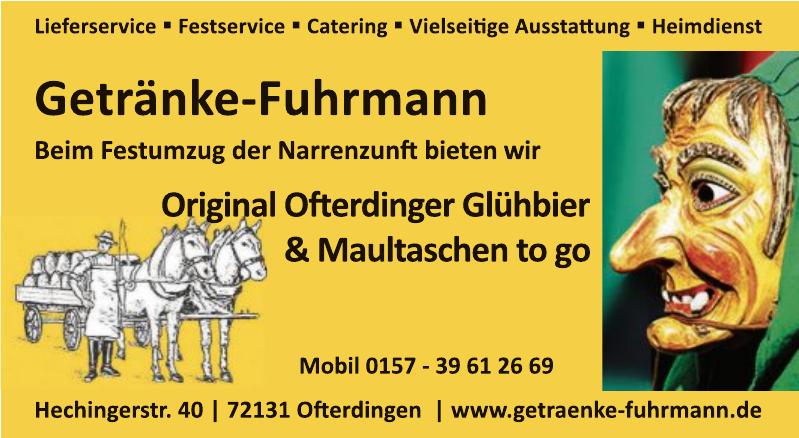 Getränke Fuhrmann