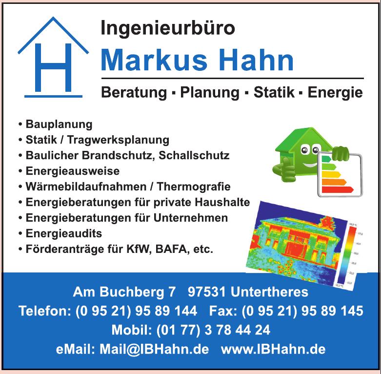 Ingenierbüro Markus Hahn