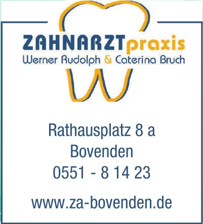 Zahnarztpraxis Werner Rudolph & Caterina Bruch