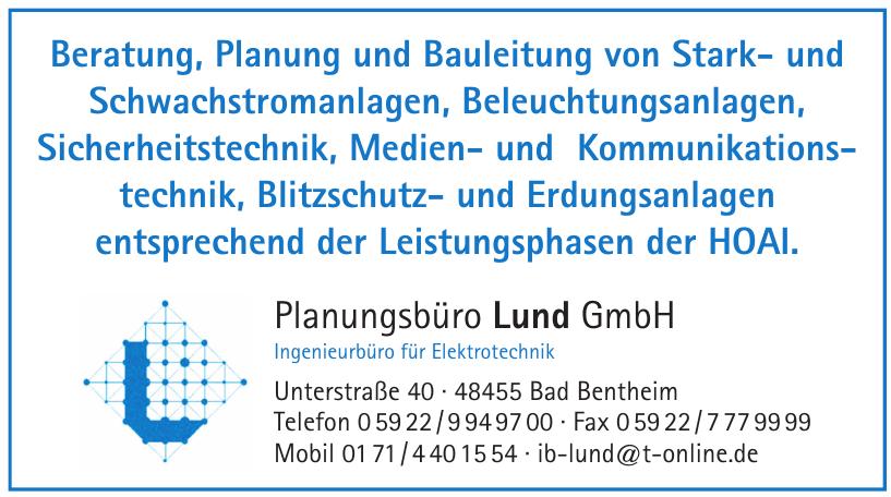 Planungsbüro Lund GmbH