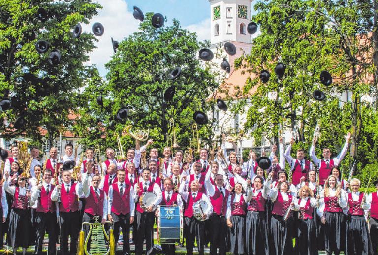 Der Musikverein Bergatreute spielt am Festsonntag auf. FOTO: MVB