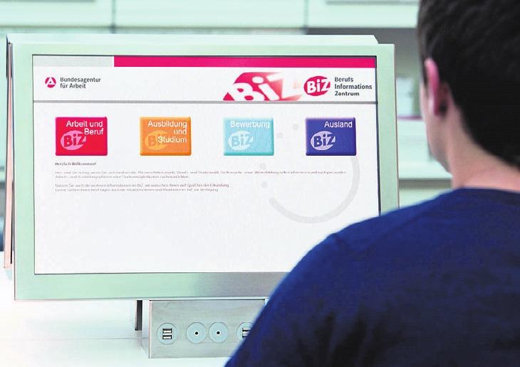 Das BiZ informiert über die Onlineportale der Agentur für Arbeit Wolfsburg. Symbolfoto: Bundesagentur für Arbeit
