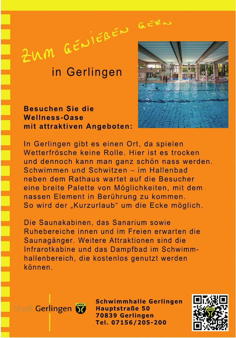 Schwimmhalle Gerlingen