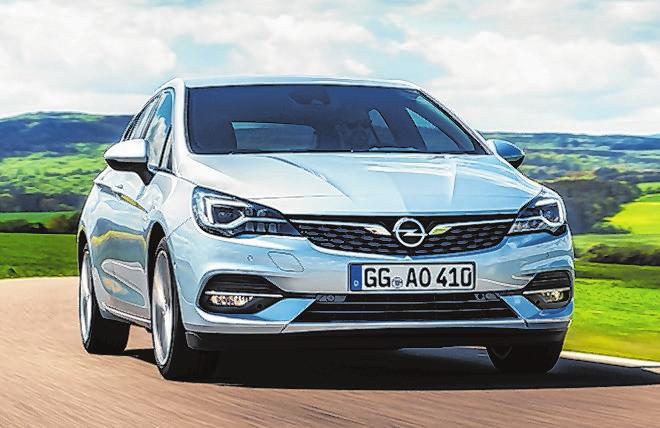 43 Opel Astra