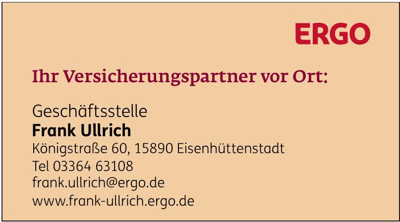 Geschäftsstelle Frank Ullrich