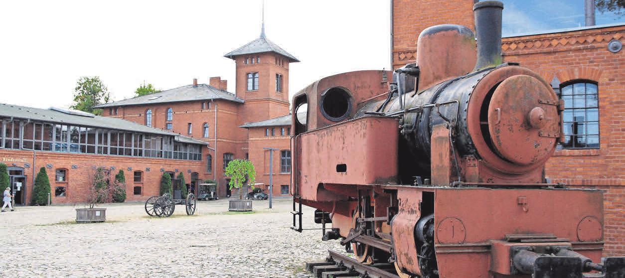 Das Hotel entstand im ehemaligen Mustergut der Industriellenfamilie Borsig.