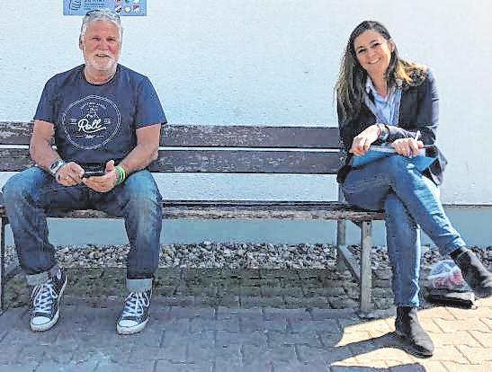 In der Krise engagiert: Bianca Scholz und Jürgen Pfliegensdörfer. Bild: privat
