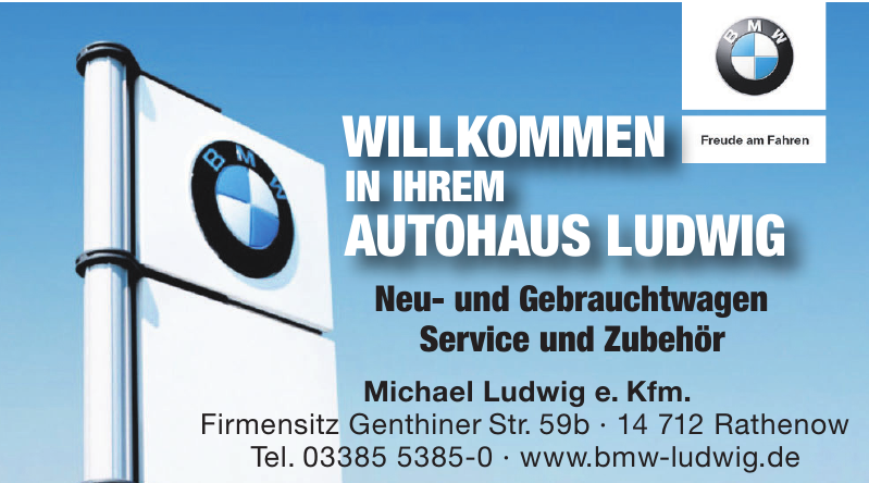 BMW Michael Ludwig e. Kfm.