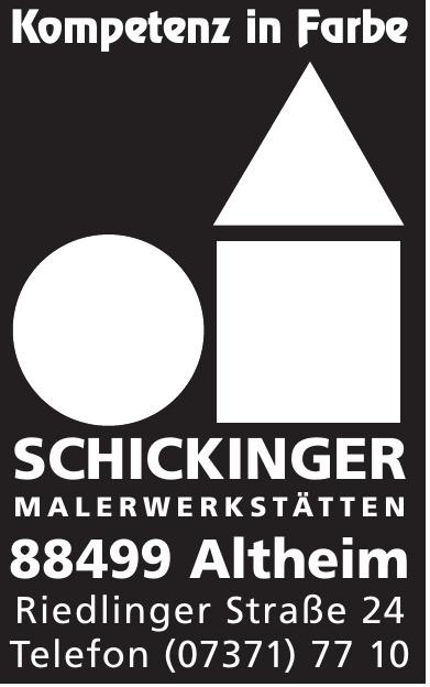 Schickinger Malerwerkstätten