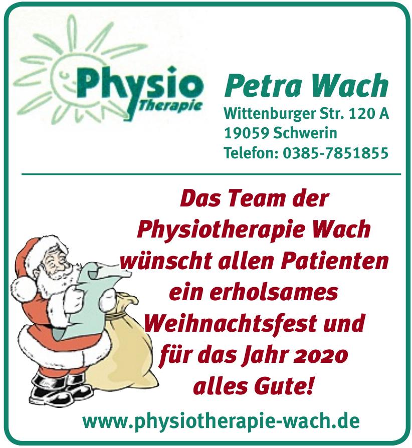 Physiotherapie Petra Wach