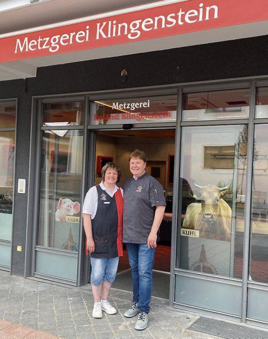 Die Metzgerei sucht dringend noch Verkaufspersonal. Esther und Roland Klingenstein freuen sich über Ihre Bewerbung!