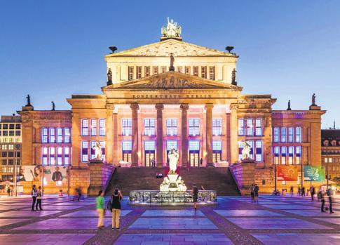 Das ehemalige Schauspielhaus dient dem Konzerthausorchester seit 1984 als feste Spielstätte. FOTO: DAVID VON BECKER