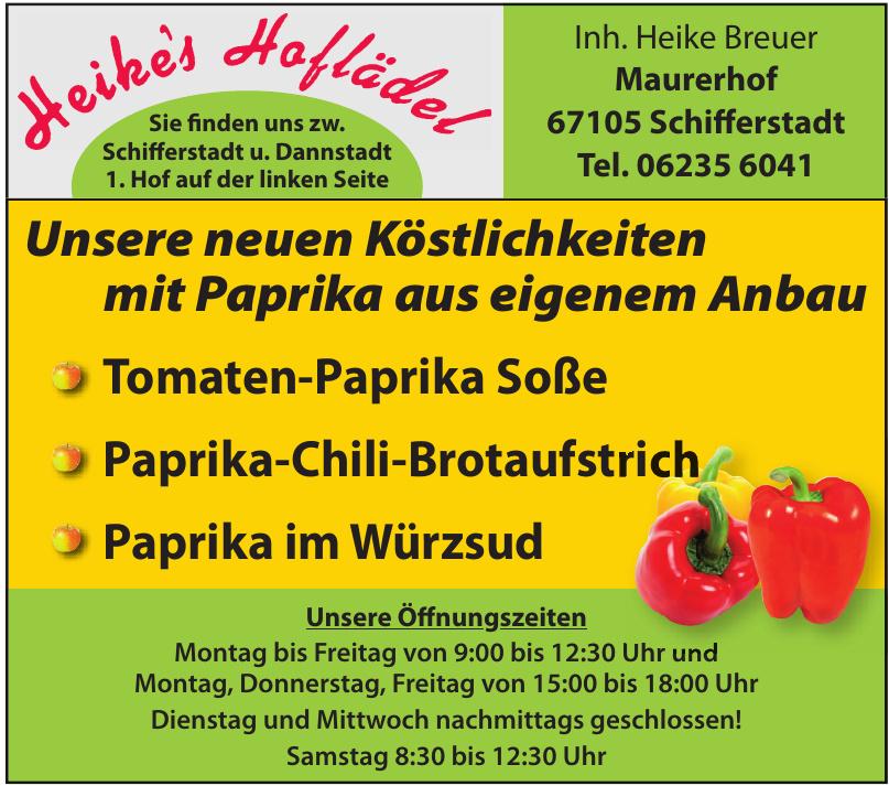 Heike's Hoflädel