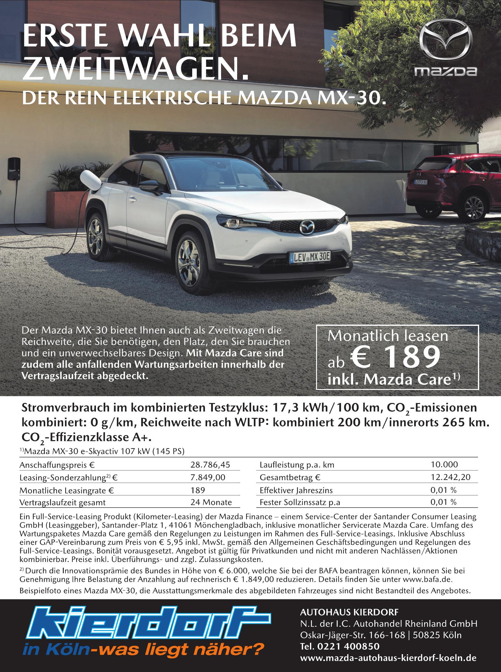Autohaus Kierdorf - NL der I.C. Autohandel Rheinland GmbH