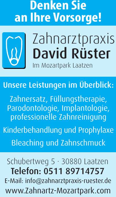Zahnarztpraxis David Rüster