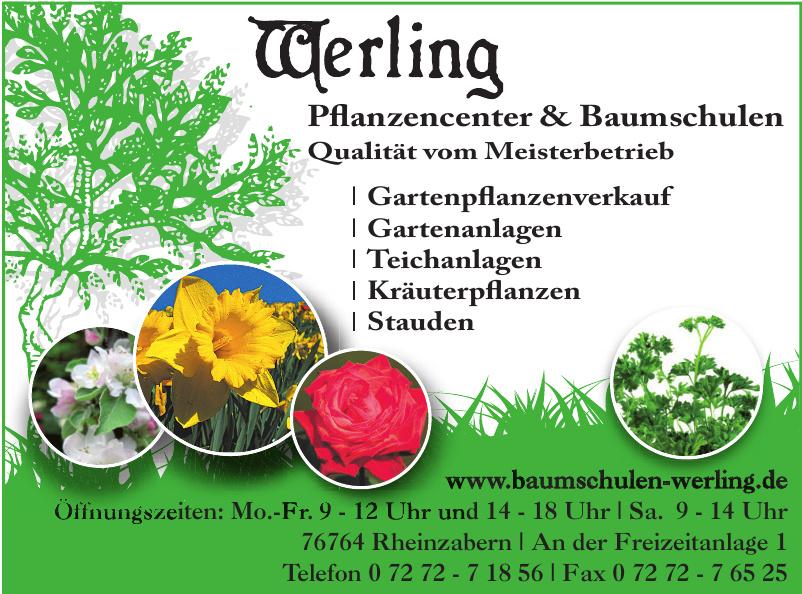 Werling Pflanzencenter & Baumschulen