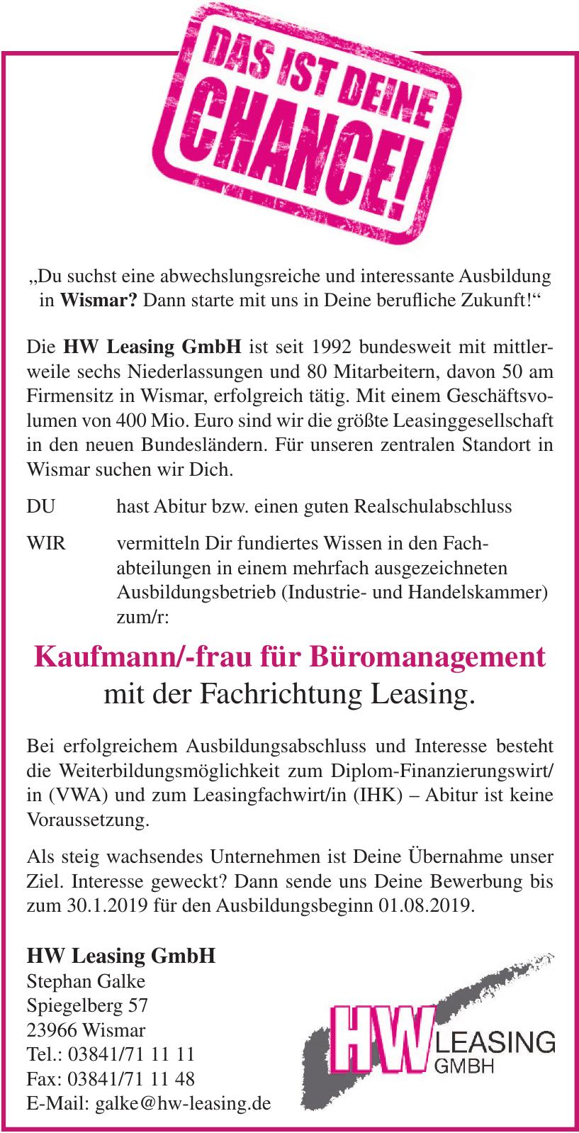 HW Leasing GmbH