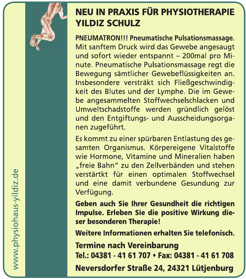 Physiohaus Yildiz Schulz