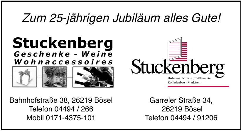 Stuckenberg Geschenke - Weine