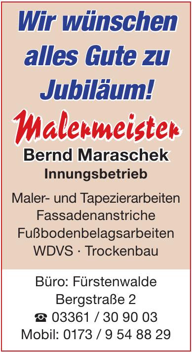 Malermeister Bernd Maraschek