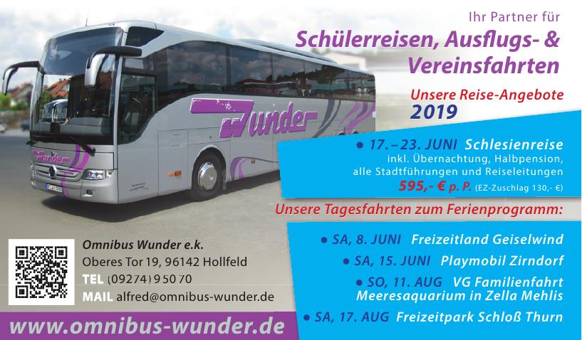 Omnibus Wunder e.k.