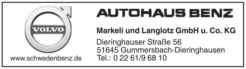 Autohaus Benz Markeli + Langlotz GmbH & Co. KG