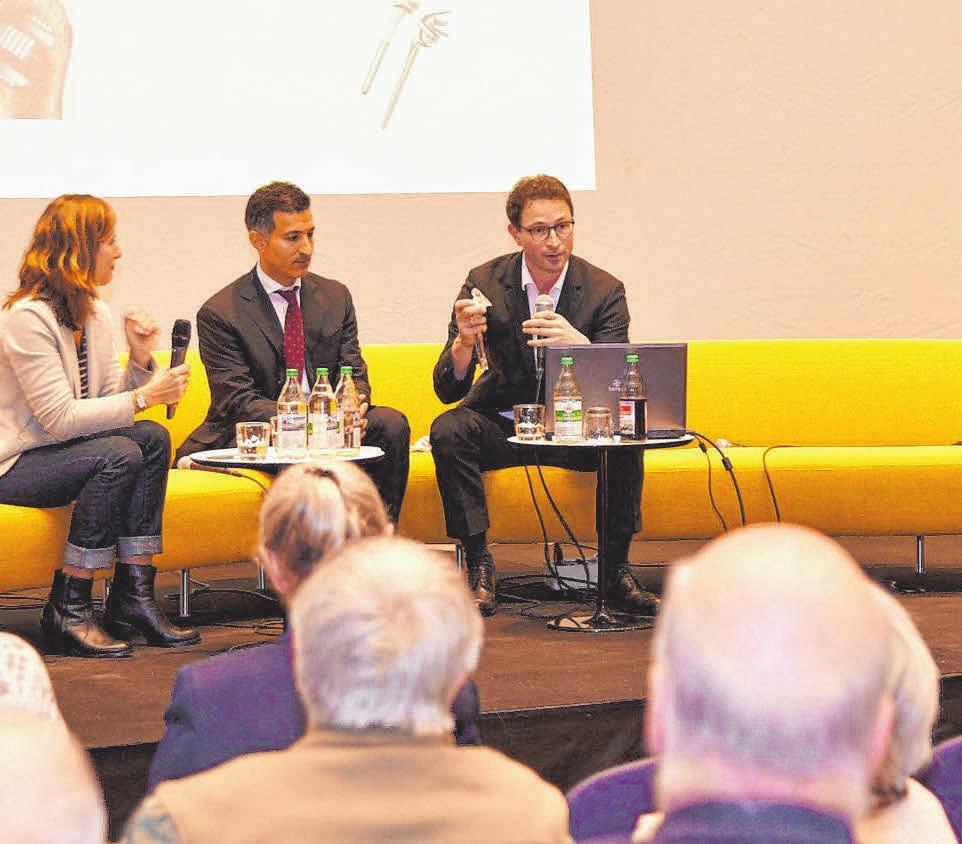 In Vorträgen klären Experten über Gesundheitsthemen auf.FOTO: PR