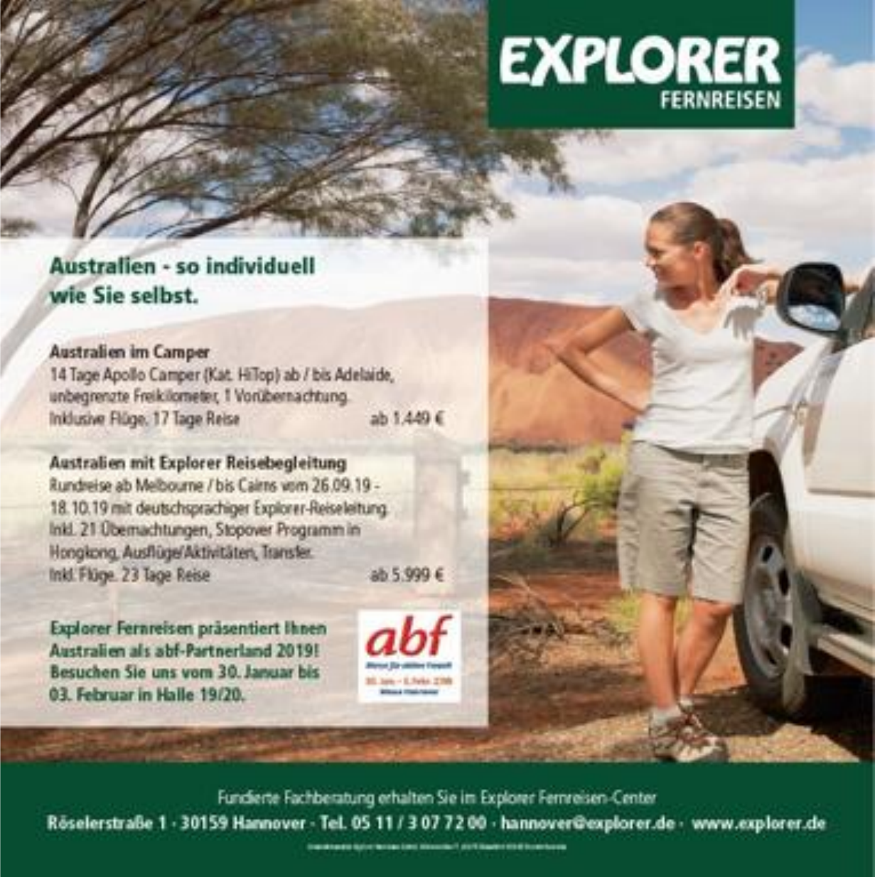 Explorer Fernreisen