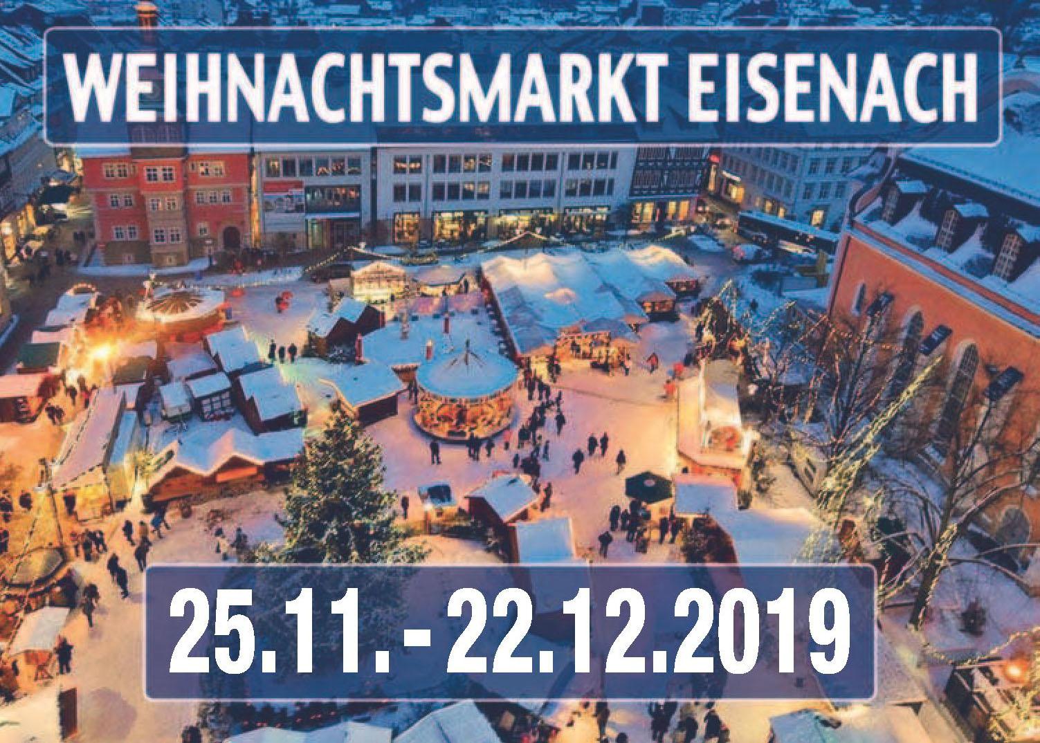 Weihnachtsmarkt Eisenach